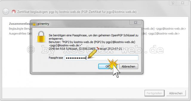 Sichere Email durch Signatur und Verschlüsselung - PGP (Teil 3 ...