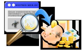 geld verdienen mit internetseite
