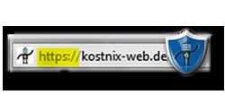 kostnix-web.de SSL
