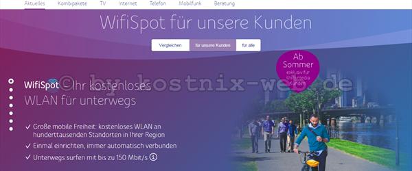 unitymedia wifi spot