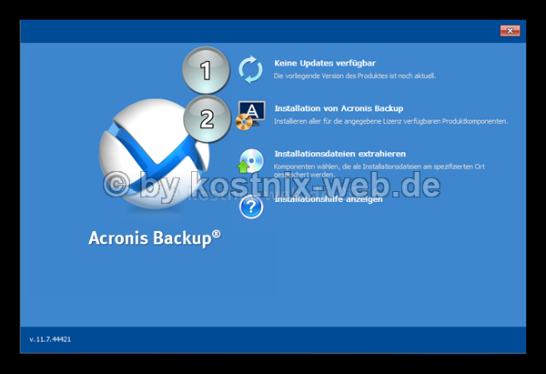 acronis-installation