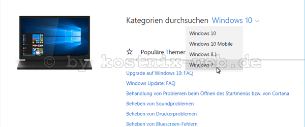 Windows 10 Hilfe