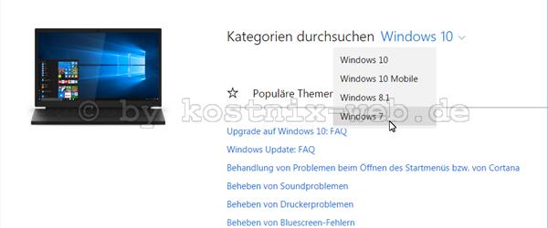Windows 10 Hilfe